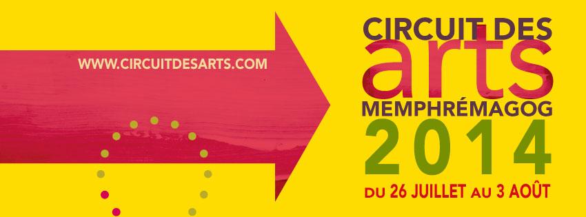 Circuit des arts Memphrémagog 2014 : du 26 juillet au 3 août