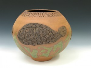 Vase animaux