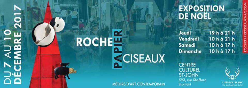 Roche Papier Ciseaux Métiers d'art contemporain